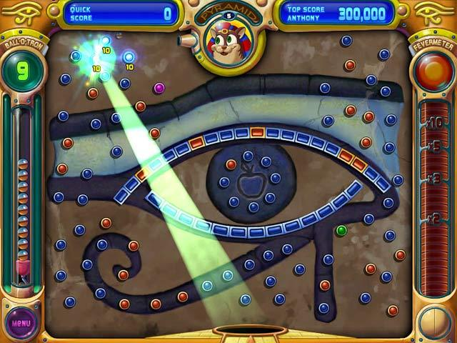 play free online peggle game