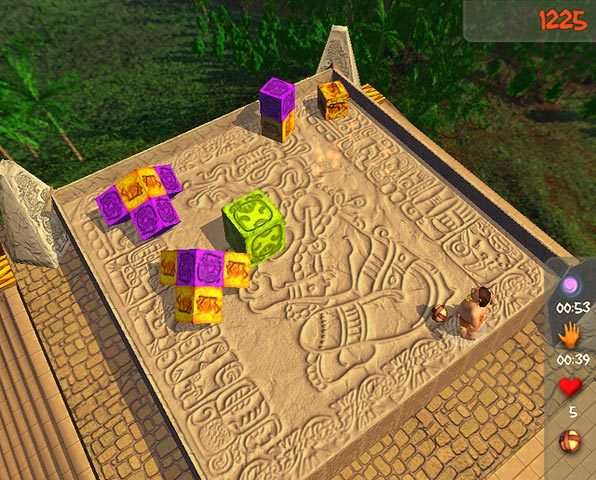 Play Aztec Ball, full review, download free demo, screenshots