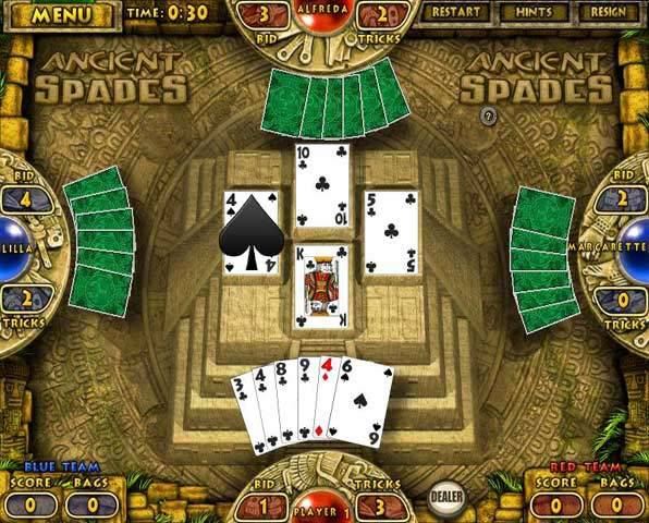 free games download solitaire spades hearts