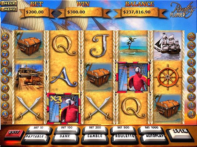 Blackbeards Bounty Slot Machine - Free to Play Demo Version