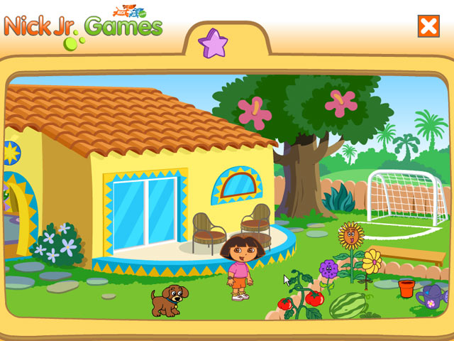 Dora Rooms Games