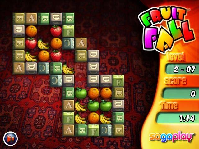 Fruit Fall Game