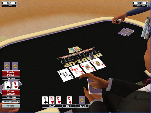 heads up poker
