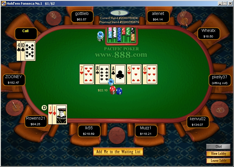 play for fun poker