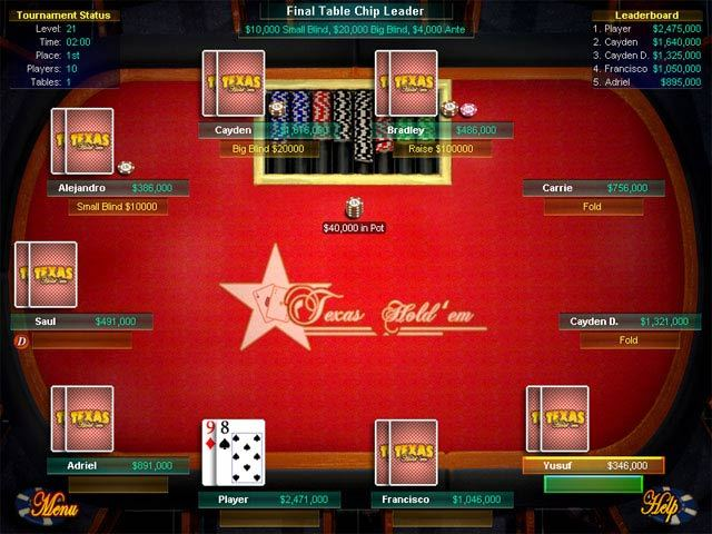free texas hold em poker downloads for pc