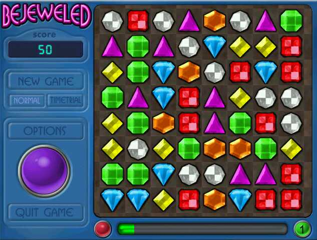 Full BEJEWELED DELUXE for Macintosh version for Windows.