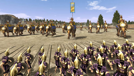 Full Rome: Total War Alexander version for Windows.