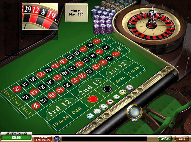 the roulette game online