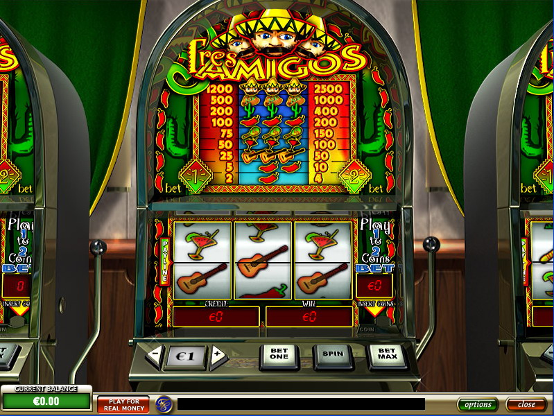 Tres Amigos Slot Machine - Free to Play Demo Version
