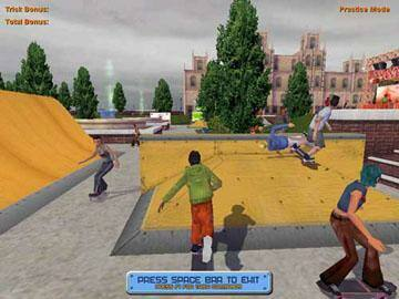 screen 1 Skateboard Park Tycoon 2004 | Link direto jogos pcesportes 