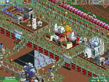 Full RollerCoaster Tycoon 2: Triple Thrill Pack version for Windows