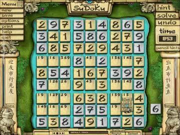 Play Ancient Sudoku, full review, download free demo, screenshots