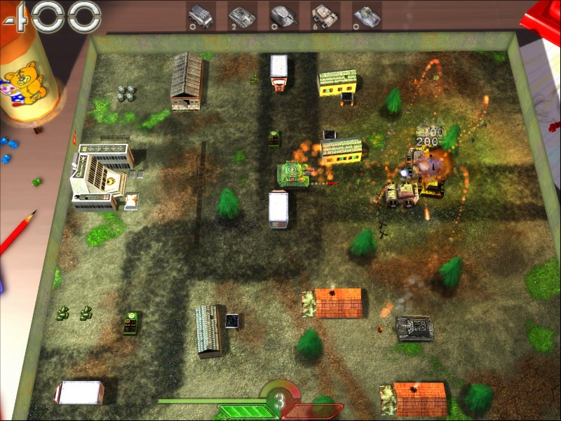 Скриншоты tank-o-box