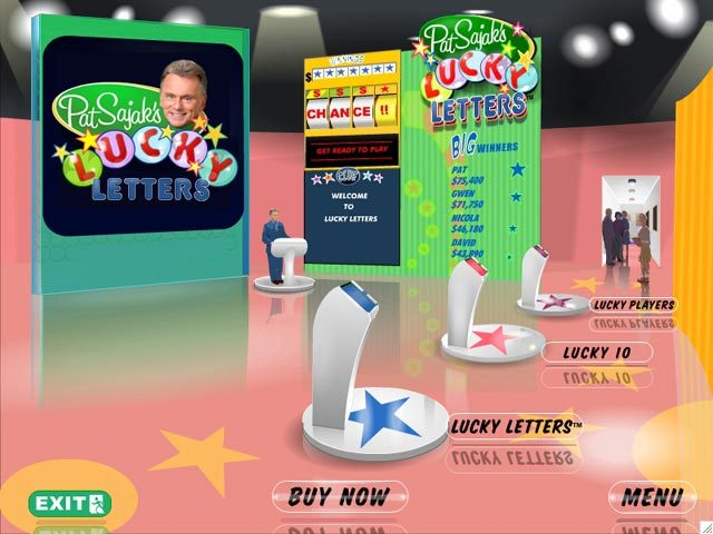 Play Pat Sajak's Lucky Letters, full review, download free demo ...