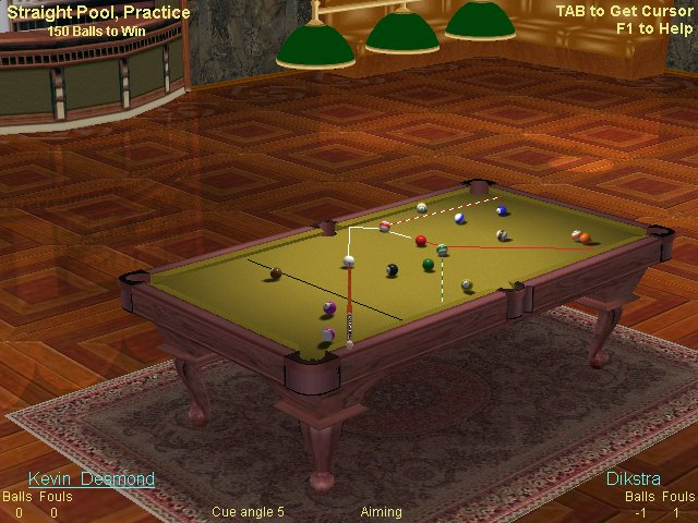 Live Billiards - comprehensive 3D pool game, online play, virtual club