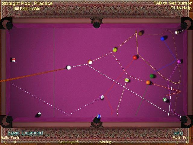 لعبة البليارد:LiveBilliards