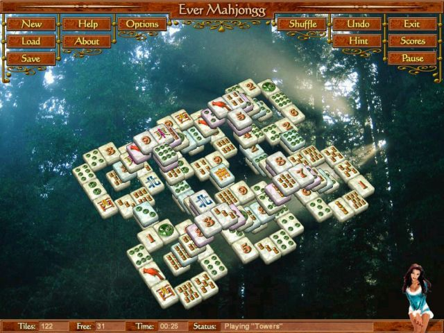 Screenshot of Ever Mahjong