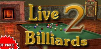 حصريا العب اونلاين بلياردو مع اللعبة الشهيرة Live Billiards 2 بمساحة 20 ميجا