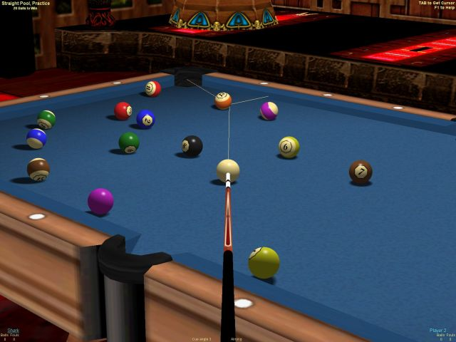 Live Billiards 2 - major pool games in 3D, play online, web club