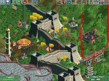 Game: RollercoasterTycoon
